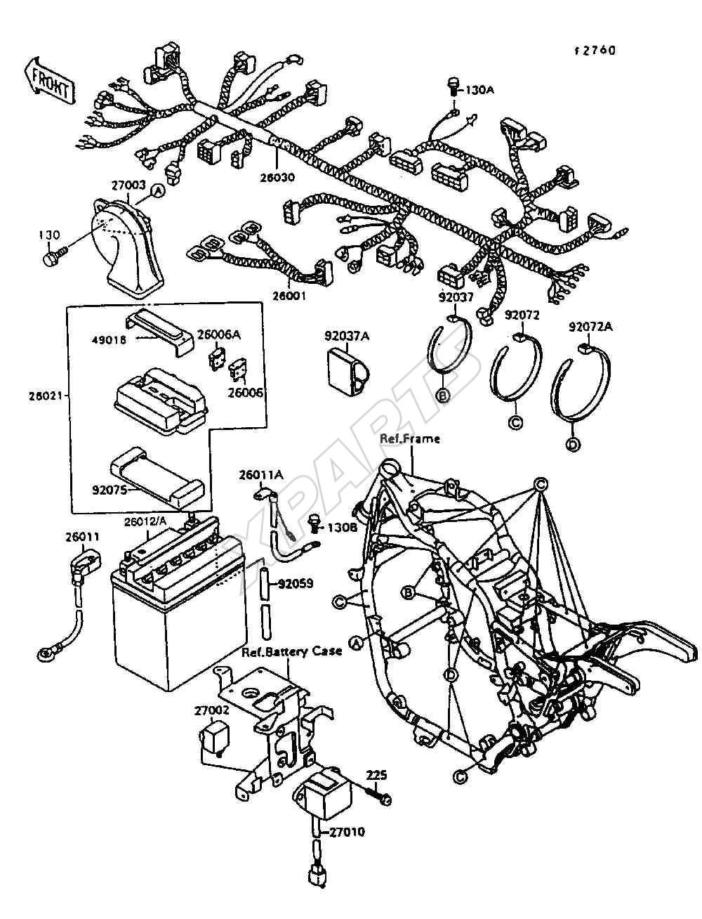Kawasaki Voyager Xii Wiring Diagram Kawasaki KX65 Wiring