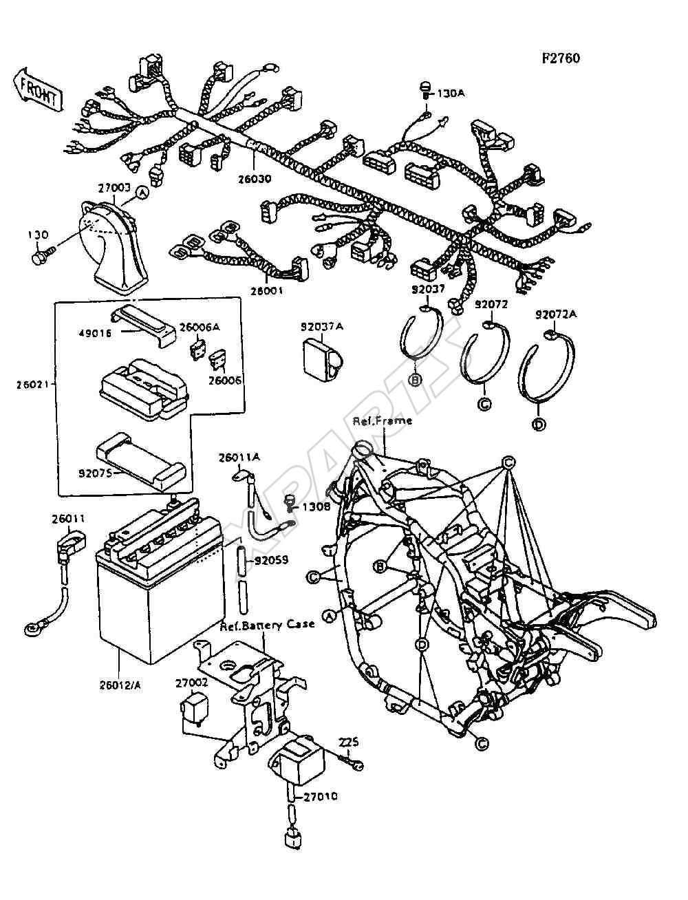 6C46FF1 Kawasaki Vulcan 1500 Classic Wiring Diagram