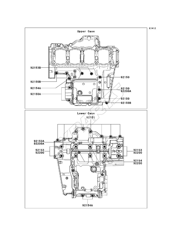 Kawasaki Ninja 1000 ABS (ZX1000-MEF) fra 2014