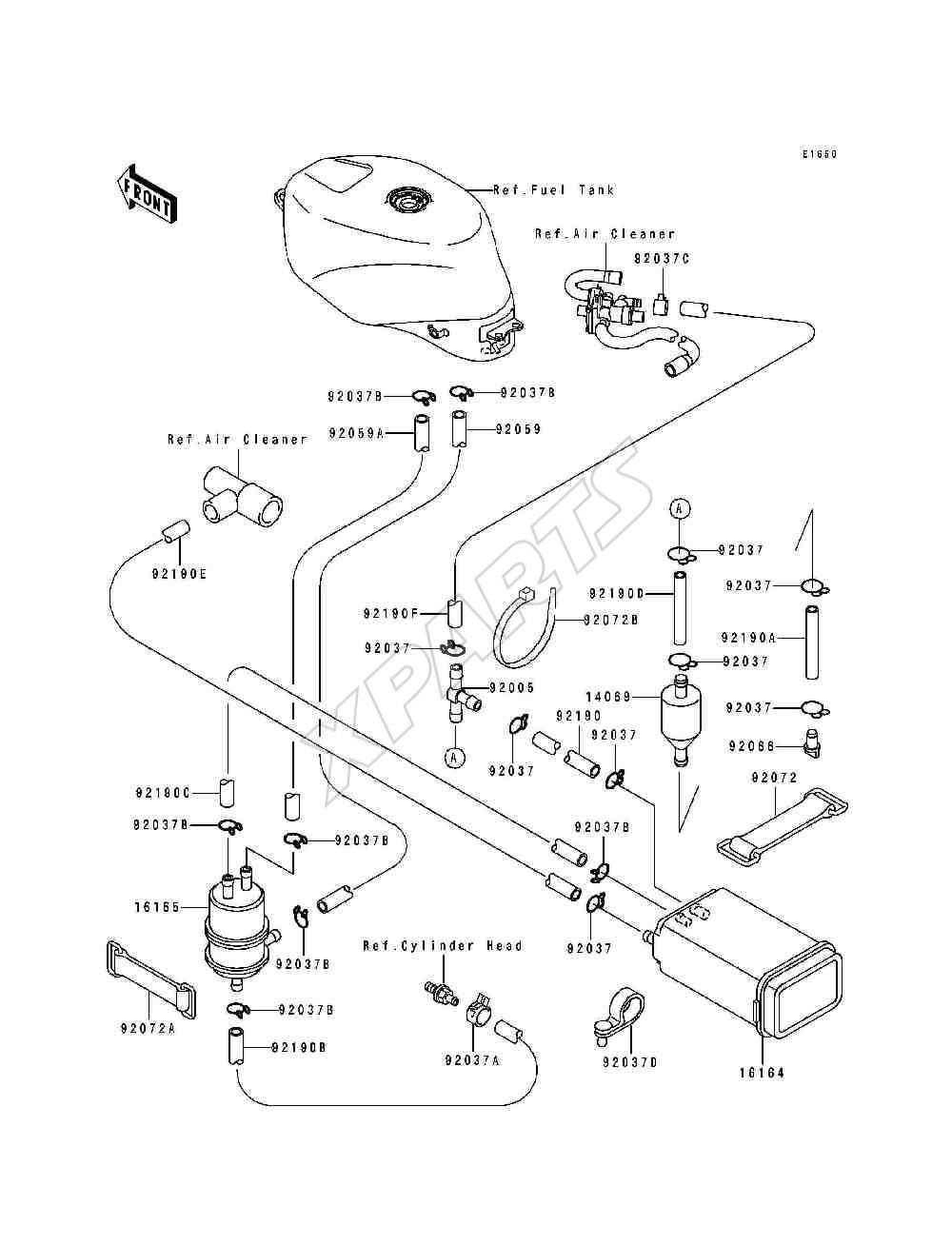 Diagram Of Suzuki Motorcycle Parts 2004 Gsx600f Wiring Harness Diagram