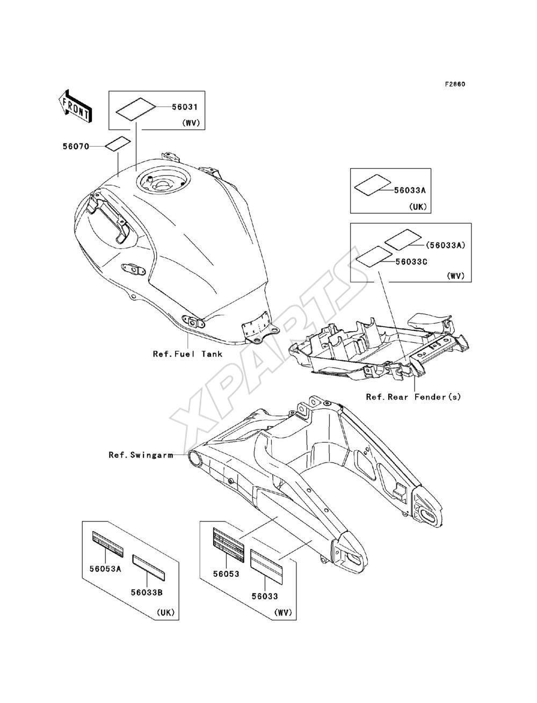 Kawasaki Versys (European) (KLE650-A9F) fra 2009