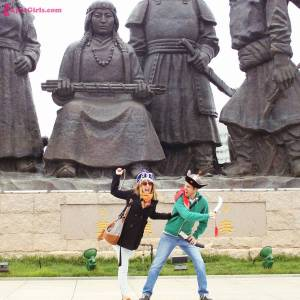 Fooling around in China