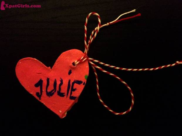 """The martisor from Minnie, my beautiful god-daughter"""