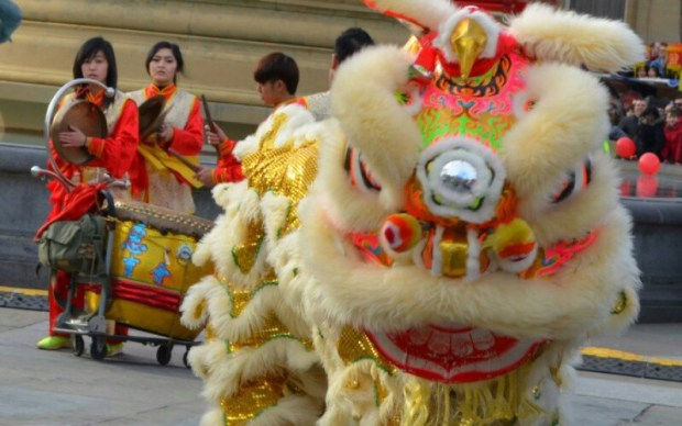 London's Chinese New Year's celebration