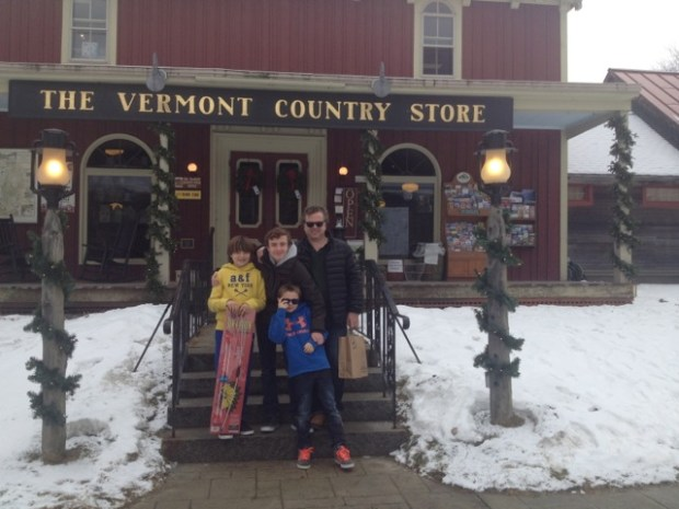 Happy 'Dutch-American' family