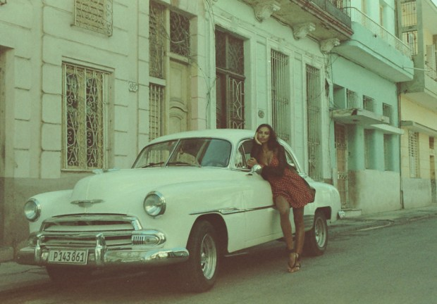 The amazing Madalina on the colorful streets of Havana.  http://www.imdb.com/name/nm4793106/