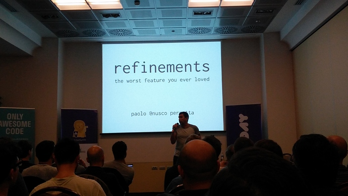 Ruby Refinements - Paolo Perrotta