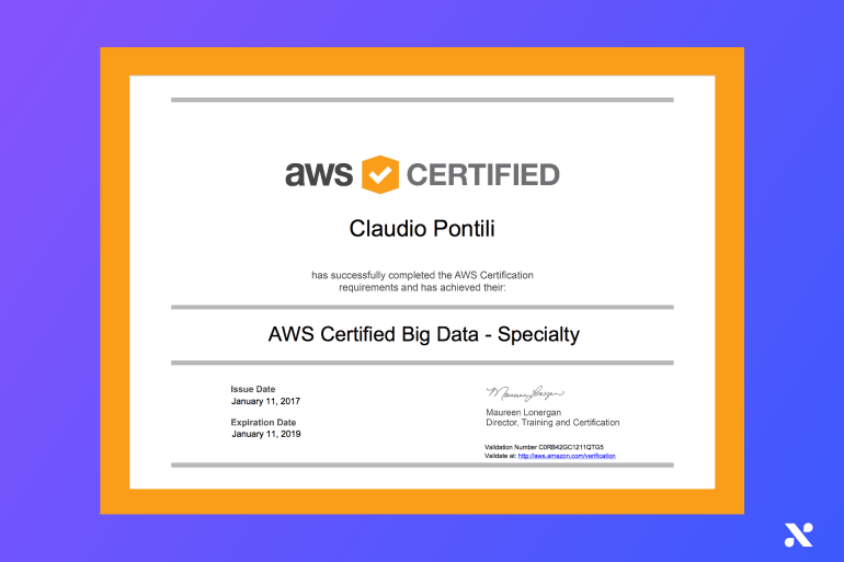 AWS Certified big Data