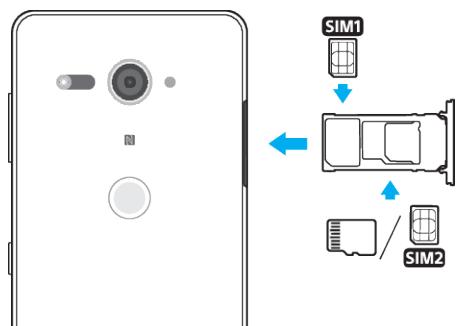 Dual-SIM Xperia XZ2 and XZ2 Compact have hybrid SIM trays
