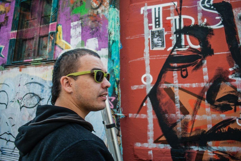 Marc Eslic, grafitero de Barcelona