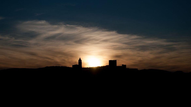 Atardecer en la Fortaleza de la Mota (Alcalá la Real)