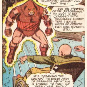 The Juggernaut. (X-Men #13)