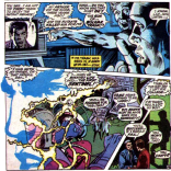 """""""Intergenerational miscommunication"""" is a really common villain origin story. Also, check out those Neal Adams layouts. Man, he's good. (X-Men #57)"""