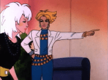 Nothing you tell us will convince us that Lin-Z from Jem and the Holograms is not secretly Dazzler.