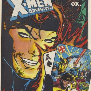Creepy Gambit would like you to buy a comic book in which he is probably even creepier in that than in the cartoon it's based on.