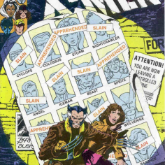 "X-Men #141, the first issue of ""Days of Future Past,"" has one of the most frequently referenced covers in all of X-Men. (Fun fact: We almost went with this one for the podcast cover art.)"