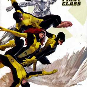 X-Men: First Class, but not THAT X-Men First Class.
