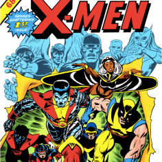 Giant-Size X-Men #1. Prepare for forty years of riffs on this cover.