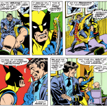 """""""Think you can just walk away, Wolverine? We'll come after you with our deadliest weapon yet: Alpha Flight crossovers!"""""""