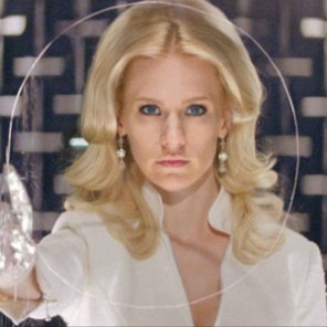 We generally like Emma Frost, but she is so boring in X-Men: First Class that we literally forgot she was in the movie.