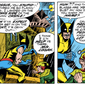 """""""We also know what you think about when you masturbate."""" (X-Men #103)"""