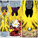 The Phoenix Force. (X-Men #108)