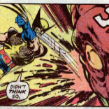 Punching pterosaurs is the gift that keeps on giving. (X-Men #114)