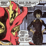 Sadly, this story is really low on Sunfire Sass. Misty Knight, however, is AWESOME. (X-Men #118)