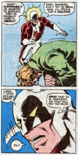 Vindicator is a thoughtful antagonist. (X-Men #120)