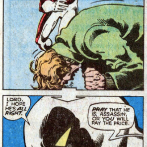 Vindicator is a thoughtful antagonist. (X-Men #120)
