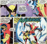 Wolverine, we are pretty sure the APA would not approve of your approach to therapy. (X-Men #122)