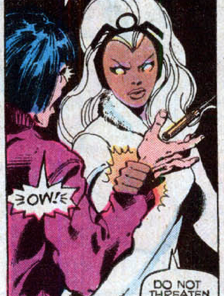 Don't fuck with Storm. (X-Men #122)