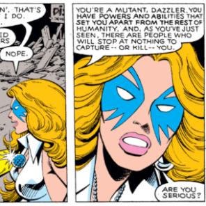 Ladies and gentlemen, Alison Blaire. (X-Men #130)