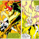 People tend to forget that Emma Frost, however briefly, actually managed to holder her own against the Phoenix Force. Daaaamn, Frost. (X-Men #131)