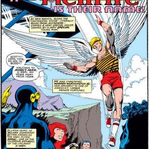 Warren Worthington and his shorts. (X-Men #132)