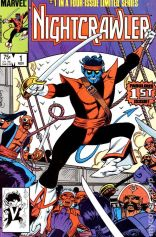 You can, in fact, judge this book by its cover. (Nightcrawler #1)