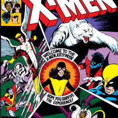Oh, hey, it's another cover people will be riffing on until the end of time! They were flying fast and furious in these days. (X-Men #139)