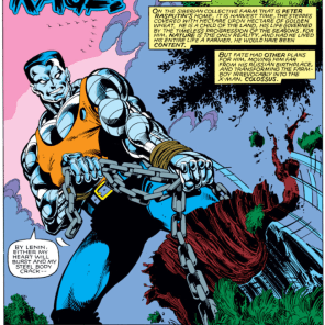 The beginning of the end of Byrne on X-Men. (X-Men #140)