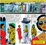 Storm vs. street harassment. (X-Men #140)