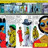 Storm vs. street harassment. (X-Men #140)
