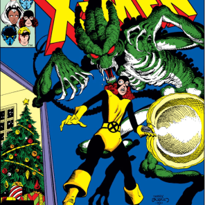 This cover accurately reflects Rachel's feelings about Christmas. (X-Men #143)