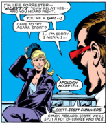 "Lee ""Better Enjoy This Arc Because She'll Never Be Written Very Well Again"" Forrester. (X-Men #143)"