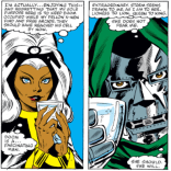 And thus began a long tradition of supervillains falling for Storm. (X-Men #145)