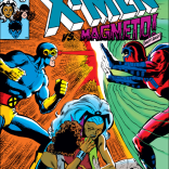 There's... a lot going on on that cover. (X-Men #150)