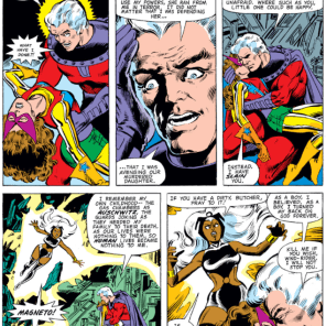 Magneto: Now available with nuance and additional backstory! (Asteroid base sold separately.) (X-Men #150)