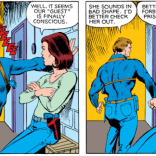 HARVEY AND JANET, WE LOVE YOU. (X-Men #151)