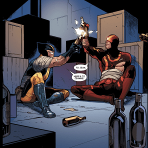 Aw, bros. (Wolverine and the X-Men #40)
