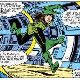 And then, for no apparent reason, she changes into a Peter Pan outfit. You do you, Kitty. You do you. (Uncanny X-Men #157)