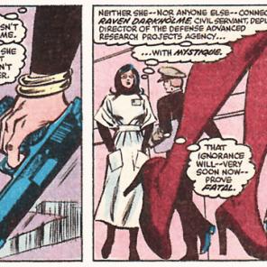 Object lesson: Everyone is Mystique. Everyone is always Mystique. (Uncanny X-Men #158)