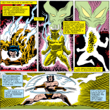 This is one of very, very few times when Wolverine's healing factor has been written as at all under his control. (X-Men #162)